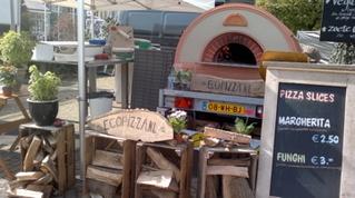 Originele houtgestookte pizzaoven